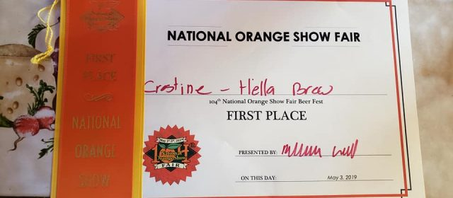 Three Marm wins first place at National Orange Show Fair
